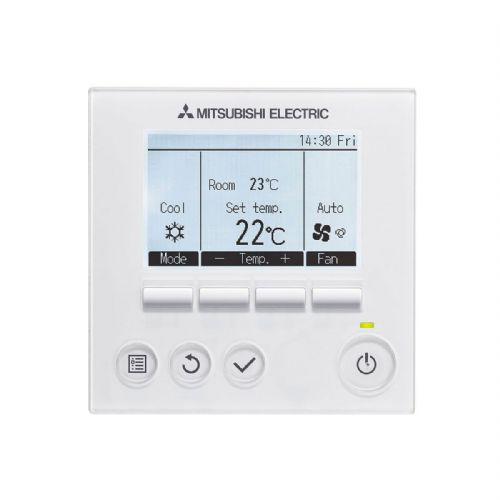 Hard Wired Mitsubishi Electric air conditioning PAR31MAA PAR-31MAA controller